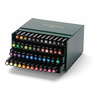 Faber Castell Drawing Pen Pitt Artist Pen Brush 48 Pieces Studiobox
