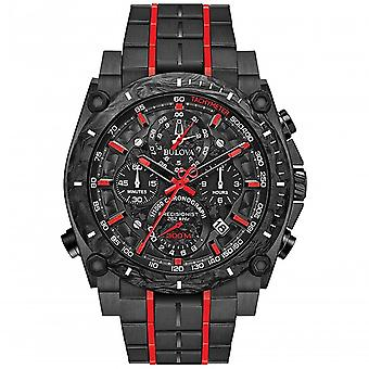 Bulova Watches 98b313 Precisionist Red & Black Stainless Steel Men's Watch
