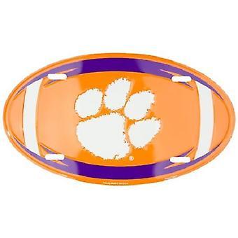 Clemson Tigers NCAA Oval registreringsskylt