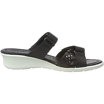 ECCO Womens Felicia Peep Toe Casual Slide Sandals