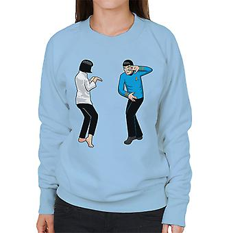 Spock Fiction Star Trek Pulp Fiction Mix Naisten & pusero