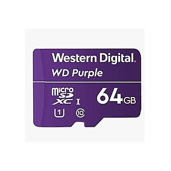 Western Digital Wd Purple 64Gb Microsdxc Card