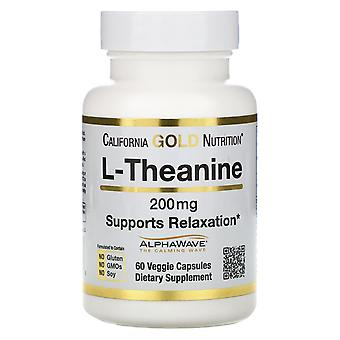 California Gold Nutrition, L-Theanine, AlphaWave, Supports Relaxation, Calm Focu