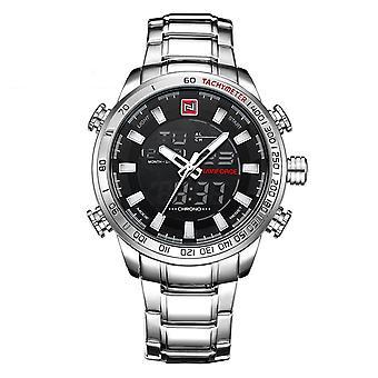 Męski zegarek i zegarek świetlisty elektroniczny zegarek kwarcowy