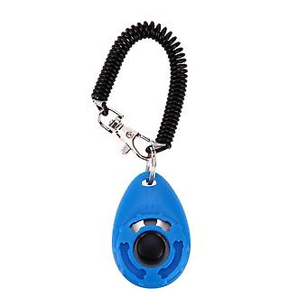 Dog Training Clicker - Adjustable Sound, Key Chain And Wrist Strap Remote