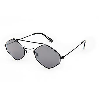 Sunglasses Unisex Cat.3 Black/Green (19-096)