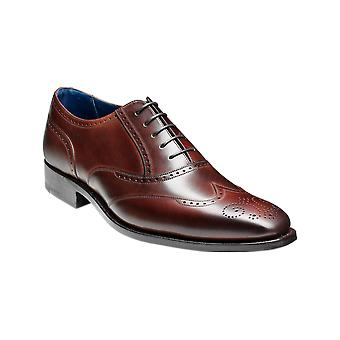Barker Johnny - Dark Brown Calf  | Mens Handmade Leather Brogue | Barker Shoes