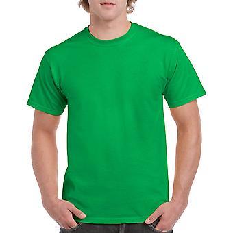 Gildan G5000 Plain Heavy Cotton T Shirt in Irish Green