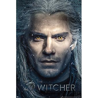 The Witcher Close Up Maxi Poster