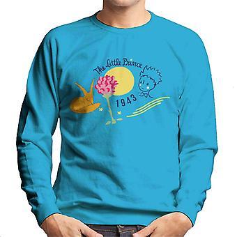 The Little Prince Fox & Rose 1943 Men's Sweatshirt