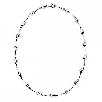Beginnings Sterling Silver Organic Drop Necklaces N4325