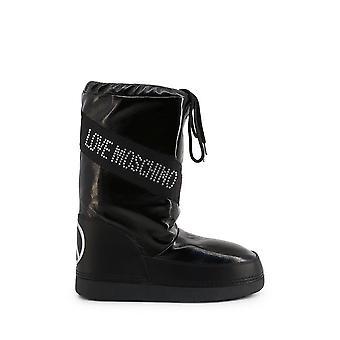 الحب موسكينو - الأحذية - الأحذية - JA24022G1BIW_1000 - السيدات - أسود، فضة - الاتحاد الأوروبي 41-42