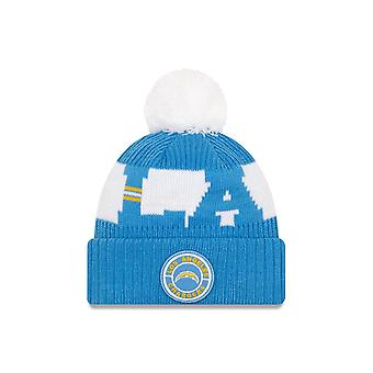 New Era Nfl Los Angeles Chargers virallinen 2020 sideline home sport beanie neule