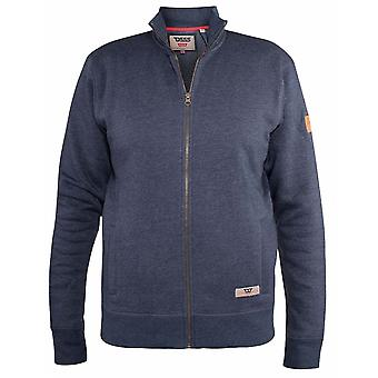 DUKE Duke Trechter Hals Full Zip Sweatshirt