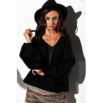 Black  sweaters v02721
