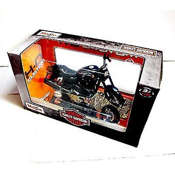 Maisto Harley Davidson 2011 XR1200X Moottoripyörä - Musta - 1:18