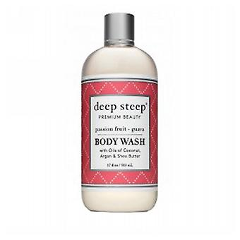 Deep Steep Body Wash, Passion Fruit Guava 17 OZ