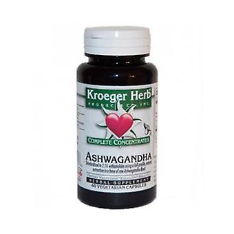 Kroeger Herb Ashwagandha, 60 Caps