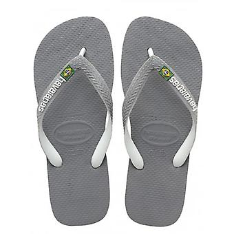 Flip flops havaianas Grey Brasil Mix logo