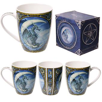 Fantasy Dragon Design Porcelain Mug