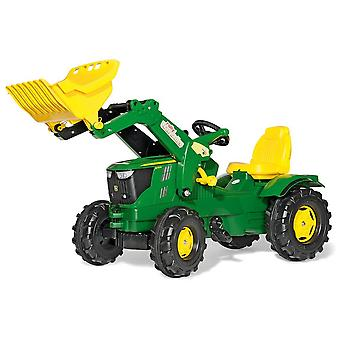 Rolly toys john deere 6210R tractor with frontloader for 3 - 8 year old-green