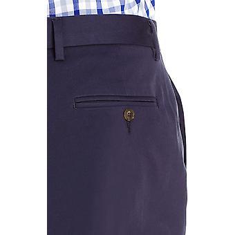 Marke - Goodthreads Men's Slim-Fit Falten-Free Comfort Stretch Kleid Chino Hose, Marine, 35W x 34L