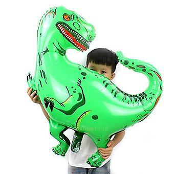 Dinosaur tvar hliníkovej fólie Hračky -ballons