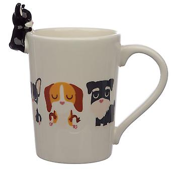 Puckator Dog Squad Francés Bulldog Taza de Cerámica