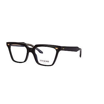 Cutler and Gross 1346 01 Black Glasses