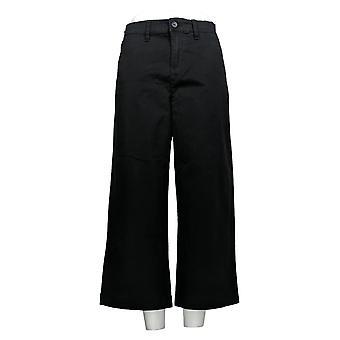 DG2 af Diane Gilman Women's Petite Pants Beskåret Sort 725-085
