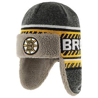 47 Brand Winter Hat ICE TRAPPER - Boston Bruins