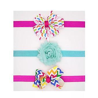Baby Headband, Girls Hair Accessories, Cotton Rabbit Ear Turban, Bow