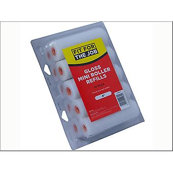 Rodo Mini Gloss Roller Refills x 10 FRRE002