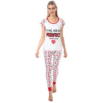 Women's Universal Pictures Love Actually Pyjamas in White