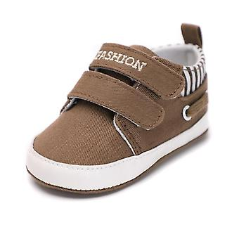Infant Babies Shoes-sole Soft Canvas Solid Footwear For Newborns Toddler
