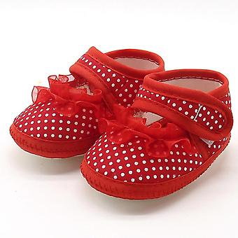 Baby Soft Comfortable Bottom Non-Slip Fashion Lace Shoe / Flats Schuhe