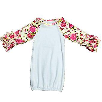 Hiha Yöpaita, Vauvan makuupussi, Raglan Röyhelöhiha Vauvan unipuuvilla