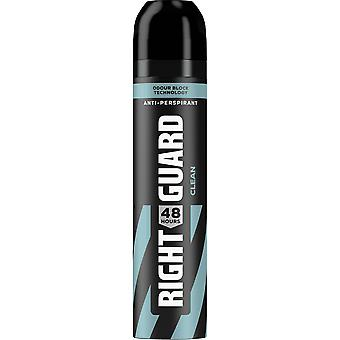 Right Guard Total Defence Deodorant Aerosol For Men - Clean