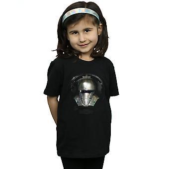 Star Wars Girls The Mandalorian Tumma Kypärä T-paita