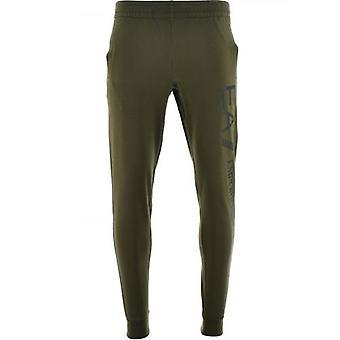 EA7 Green Jogging Bottoms