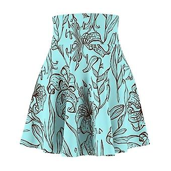 Blue Pollen Women's Skater Skirt