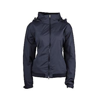 Dublin Trinity Womens Waterproof Blouson Jacket - Navy Blue