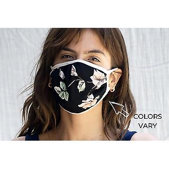 Smiešne pohodlné opakovane handričkou maska - 2 Pack