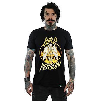 Absolútna kultový muži ' s Rick a Morty vták osoba T-shirt