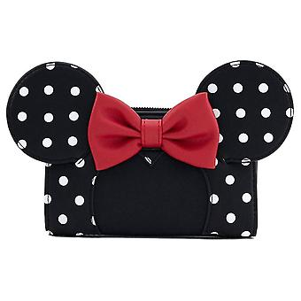 Loungefly x Disney Minnie Myszka Polka Dot Clutch Torebka