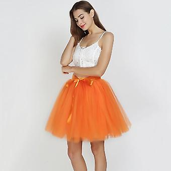 Skirts Womens 7 Layers, Midi Tulle Skirt Women, Ball Gown Party Petticoat