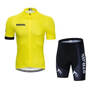 Pro Team Summer Cycling Jersey Set