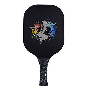 Ball Paddle Set-graphite Carbon Fiber Surface Racket