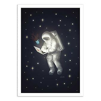 Art-Poster - Cosmonaut Freelance - Dary Maltseva