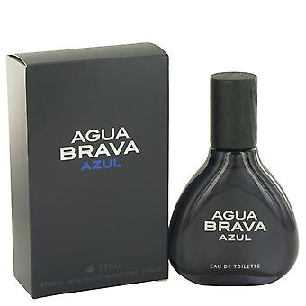 Agua Brava Azul door Antonio Puig Eau De Toilette Spray 3.4 oz/100 ml (mannen)